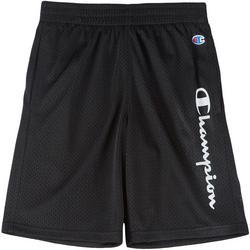 Big Boys Logo Mesh Shorts