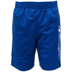 Champion Big Boys Logo Mesh Shorts