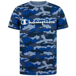 Champion Little Boys Classic Camo Script T-Shirt