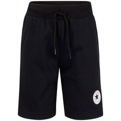 Little Boys Logo Patch Shorts