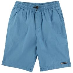 Converse Big Boys Solid Woven Pull-On Shorts