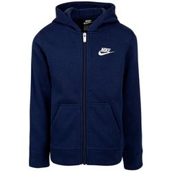 Nike Little Boys Solid Full Zip Club Fleece Hoodie