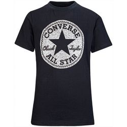 Converse Big Boys Short Sleeve Logo Print Tee