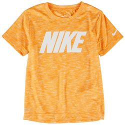 Nike Little Boys Logo Space Dyed T-Shirt