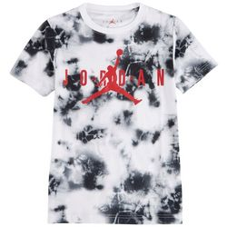 Jordan Big Boys Tie Dye Logo T-Shirt