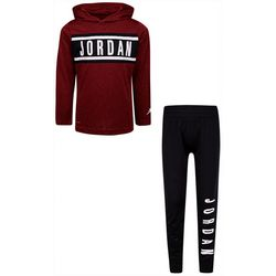 Jordan Little Boys Alpha Hoodie & Jogger Pants Set