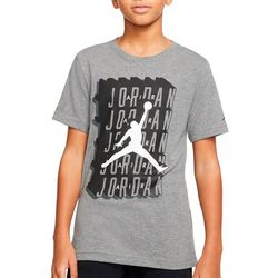 Jordan Big Boys Short Sleeve Crosswords T-shirt