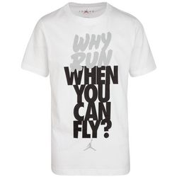 Jordan Big Boys Why Run When You Can Fly T-shirt
