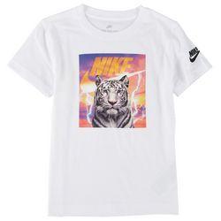 Nike Little Boys Photo Tiger T-Shirt