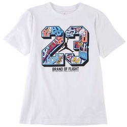 Jordan Big Boys 23 Brand Of Flight T-Shirt