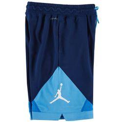 Jordan Big Boys Air Jordan Colorblock Logo Shorts