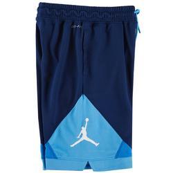 Big Boys Air Jordan Colorblock Logo Shorts
