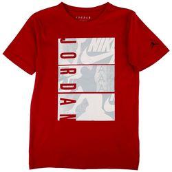 Jordan Big Boys Logo Panel Graphic Print T-Shirt