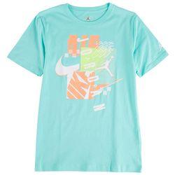 Jordan Big Boys Mash Up Logo Graphic T-Shirt