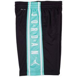 Jordan Big Boys Logo Stripe Basketball Shorts