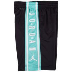 Big Boys Logo Stripe Basketball Shorts