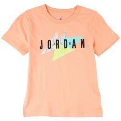 Jordan Big Boys Retro Logo Graphic T-Shirt
