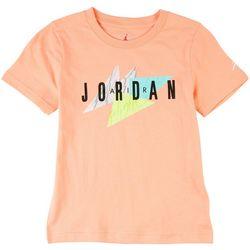 Jordan Little Boys Retro Logo Graphic T-Shirt