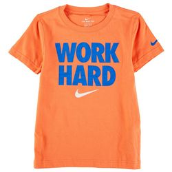 Nike Little Boys Work Hard T-Shirt