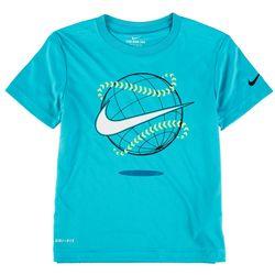 Nike Little Boys Baseball Swoosh T-Shirt