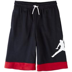 Big Boys Jumpman Logo Stripe Trim Shorts