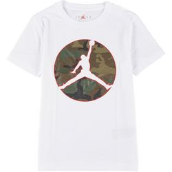 Jordan Big Boys Short Sleeve Jumpman Camo T-Shirt
