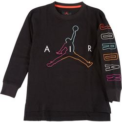 Jordan Big Boys Air Future Long Sleeve T-Shirt