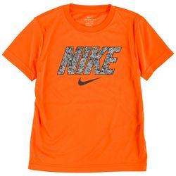 Nike Little Boys Digital Icon Logo Print T-Shirt