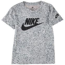 Nike Little Boys Digital Confetti Swoosh Logo T-Shirt