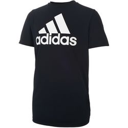 Adidas Big Boys ClimaLite Performance Logo T-Shirt