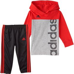 Little Boys 2-pc. Colorblock Hoodie Set
