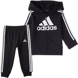 Adidas Little Boys 2-pc. Jogger Pants Set