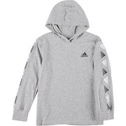 Adidas Big Boys Lightweight Logo Hoodie