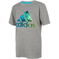 Adidas Big Boys Short Sleeve Liquid Metal T-Shirt
