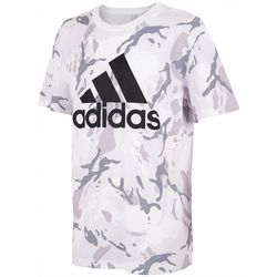 Adidas Big Boys Camo Short Sleeve T-Shirt