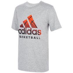 Adidas Big Boys Stay True Basketball Short Sleeve