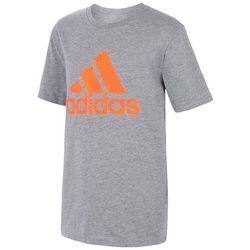 Adidas Big Boys Badge Of Sport Sole Short Sleeve T-Shirt
