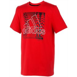 Adidas Little Boys Baseball Logo T-Shirt