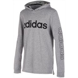 Adidas Little Boys Linear Logo Hoodie