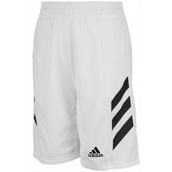 Adidas Big Boys Sport 3-Stripe Shorts