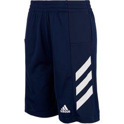 Adidas Big Boys Sport 3-Stripe Shorts