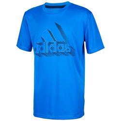 Big Boys Short Sleeve Speed Lines Graphic T-Shirt