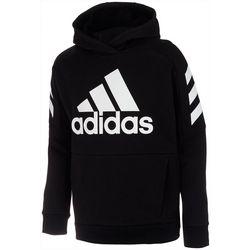 Adidas Big Boys Fleece Hoodie