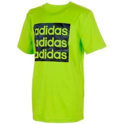 Big Boys  Short Sleeve Camo Logo T-Shirt