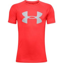 Under Armour Big Boys Tech Logo Promo T-Shirt