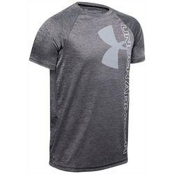 Under Armour Big Boys Tech Split Logo T-Shirt