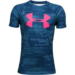 Under Armour Big Boys UA Tech Big Logo Graphic Print T-Shirt