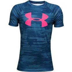 Under Armour Big Boys UA Tech Big Logo Graphic Print T-Shirt