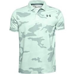 Under Armour Big Boys Performance Camo Golf Polo Shirt