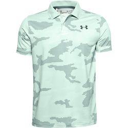 Big Boys Performance Camo Golf Polo Shirt